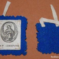 Antigüedades: ESCAPULARIO DEL SIGLO XIX INMACULADA CONCEPCION-18. Lote 144611490