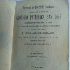 Antigüedades: LIBRO DEL 1903. Lote 144615885