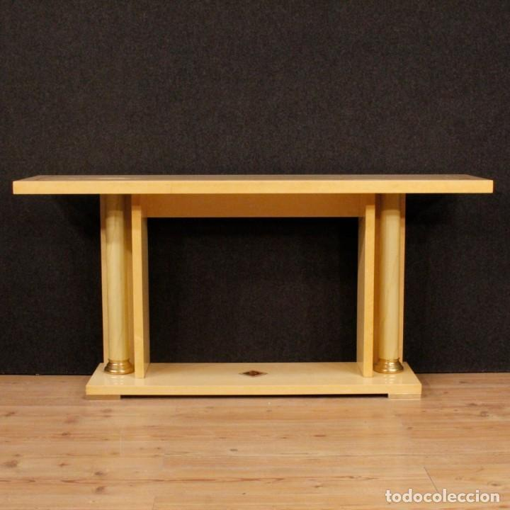 Antigüedades: Consola italiana en madera del siglo XX - Foto 2 - 144621578