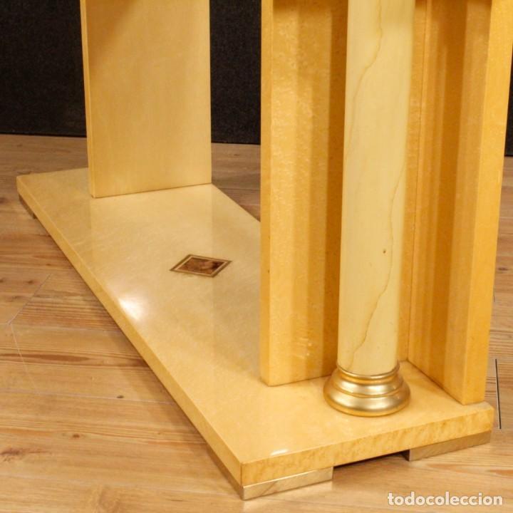 Antigüedades: Consola italiana en madera del siglo XX - Foto 7 - 144621578