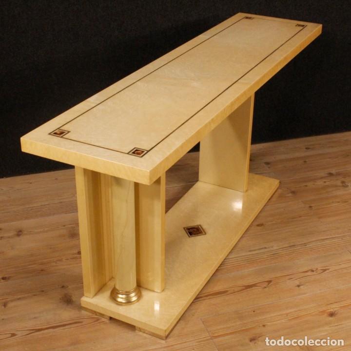 Antigüedades: Consola italiana en madera del siglo XX - Foto 8 - 144621578