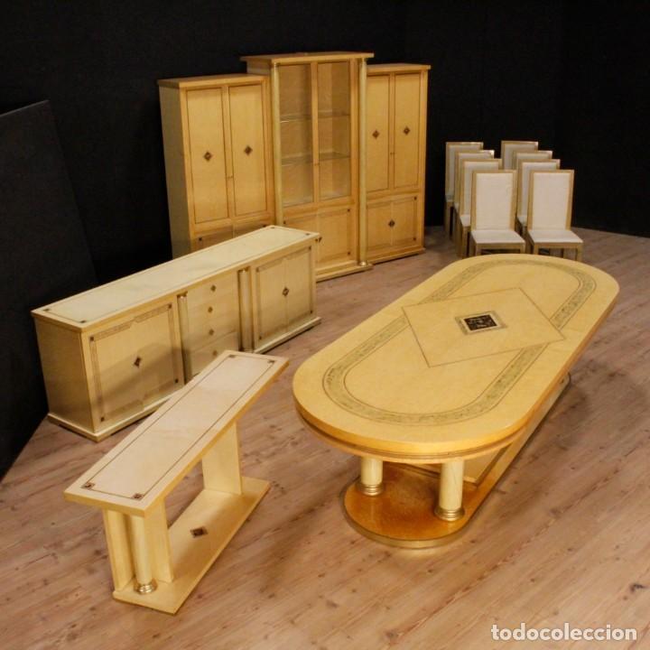 Antigüedades: Consola italiana en madera del siglo XX - Foto 12 - 144621578