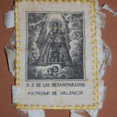 Antiquitäten - ESCAPULARIO VIRGEN DE LOS DESAMPARADOS DE VALENCIA SIGLO XIX-23 - 144624082