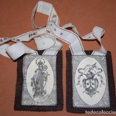 Antigüedades: ESCAPULARIO VIRGEN DEL CARMEN SIGLO XX. Lote 144624518