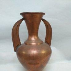 Antigüedades: ANTIGUA JARRA,JARRON, CANTARA, CANTARO. ARABE, DE COBRE.. Lote 144642985