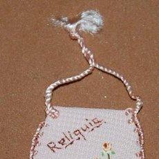 Antigüedades: RELICARIO TEXTIL-38. Lote 144654078
