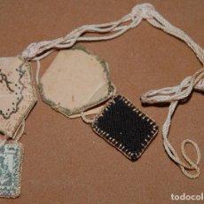 Antigüedades: ESCAPULARIO NUESTRA SEÑORA DEL CARMEN-45. Lote 144655942