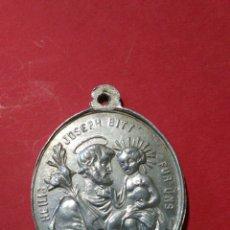 Antigüedades: ANTIGUA MEDALLA DE SAN JOSÉ. 3,7 X 3 CM.. Lote 144682405