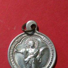 Antigüedades: MEDALLA DE SAN PANCRACIO. PARROQUIA DE SAN MARTÍN. VALENCIA. 2 CM. Lote 144682597