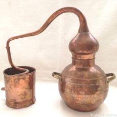 Antigüedades: ANTIGUO ALAMBIQUE DE COBRE.. Lote 144695529