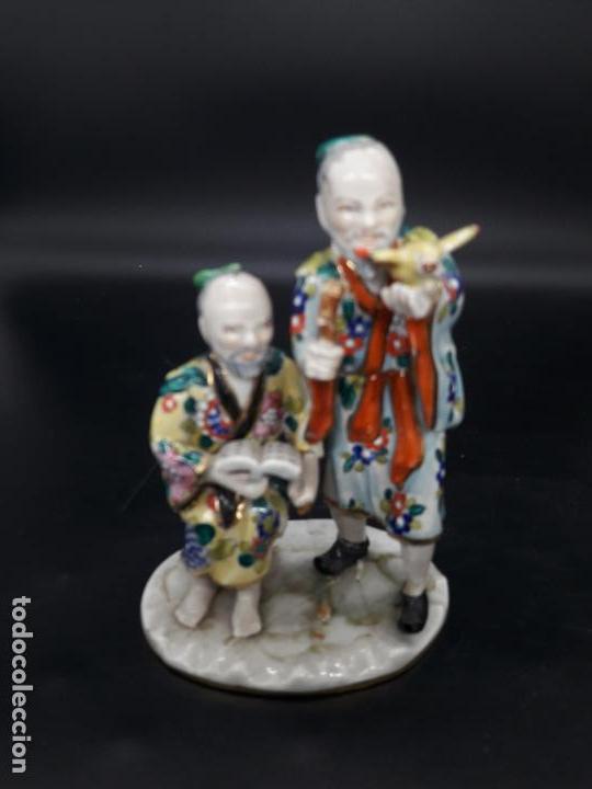 FIGURA DE PORCELANA (Antigüedades - Porcelanas y Cerámicas - China)