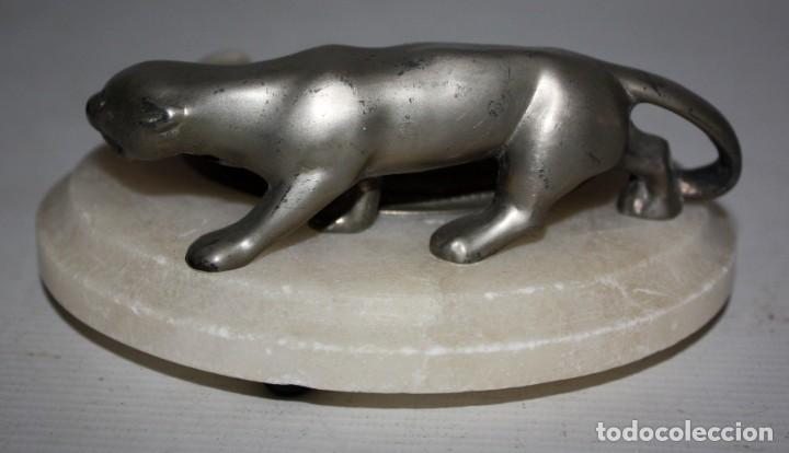 Antigüedades: CENICERO-PANTERA ART-DECÓ-1920-30. - Foto 4 - 144708906