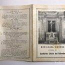 Antigüedades: VALENCIA. SANTÍSIMO CRISTO DEL SALVADOR. BREVÍSIMA NOVENA (H.1940?). Lote 144724297