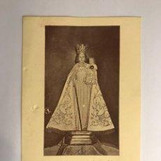 Antiguidades: CARCAGENTE (VALENCIA) ESTAMPA RELIGIOSA. NUESTRA SEÑORA DE AGUAS VIVAS (A.1956). Lote 144731680