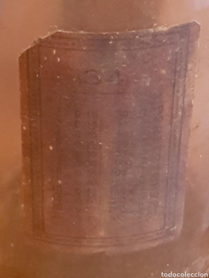 Antigüedades: Singular bote botella de cristal farmacia cuello estrecho boca ancha - Foto 8 - 144762641