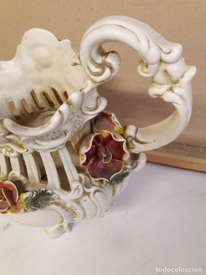 Antigüedades: JARRON ORIGINAL VINTAGE. - Foto 2 - 144778058