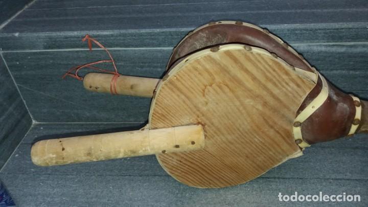 Antigüedades: Máquina manual para AZUFRE AZUFRADORA PAVA de madera y hojalata lata chapa sulfatadora SOPLADOR - Foto 4 - 144821926