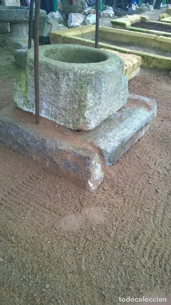 Antigüedades: Piedra Antigüa, brocal de granito - Foto 5 - 144823590
