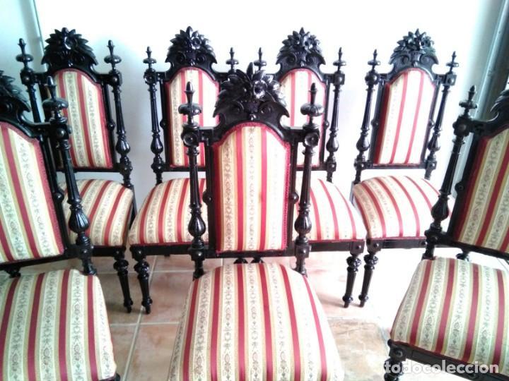 Antigüedades: Sillas y sillones alfonsinos - Foto 2 - 144827454