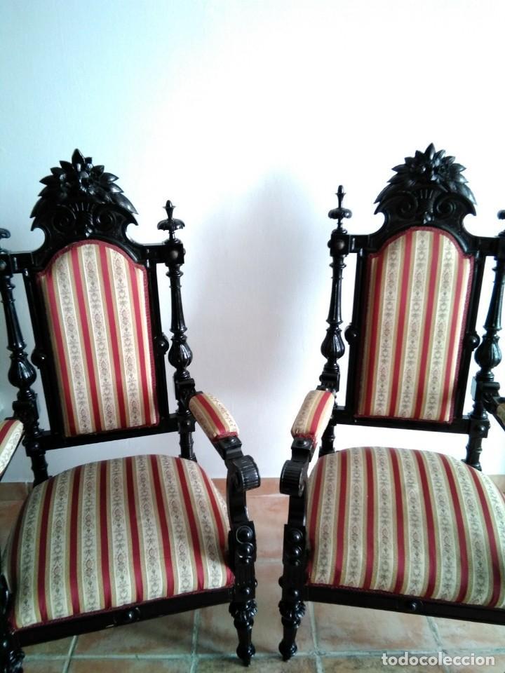 Antigüedades: Sillas y sillones alfonsinos - Foto 3 - 144827454
