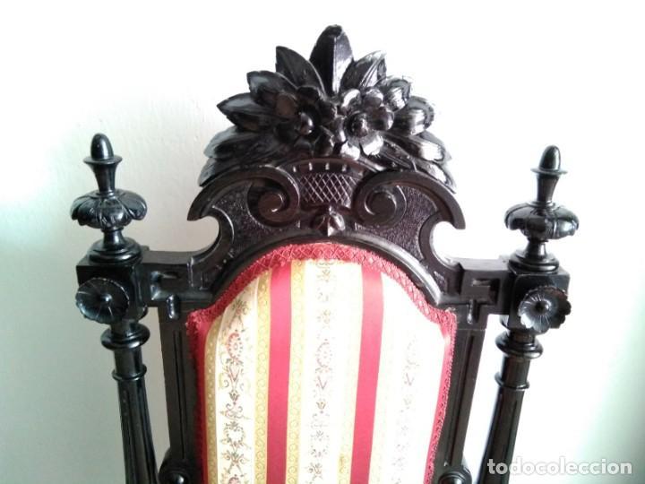 Antigüedades: Sillas y sillones alfonsinos - Foto 8 - 144827454