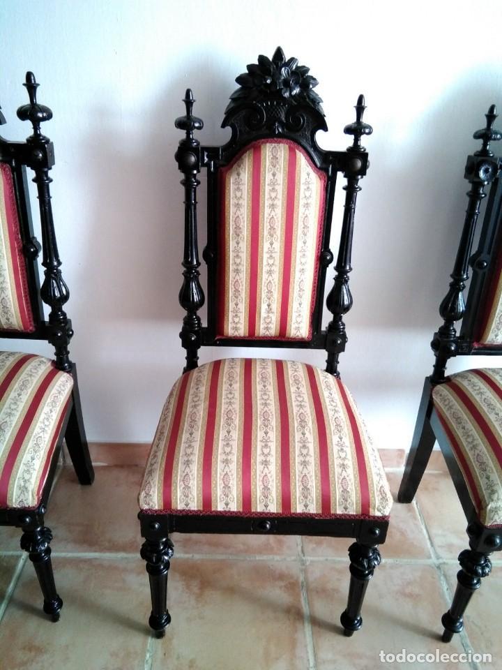 Antigüedades: Sillas y sillones alfonsinos - Foto 9 - 144827454