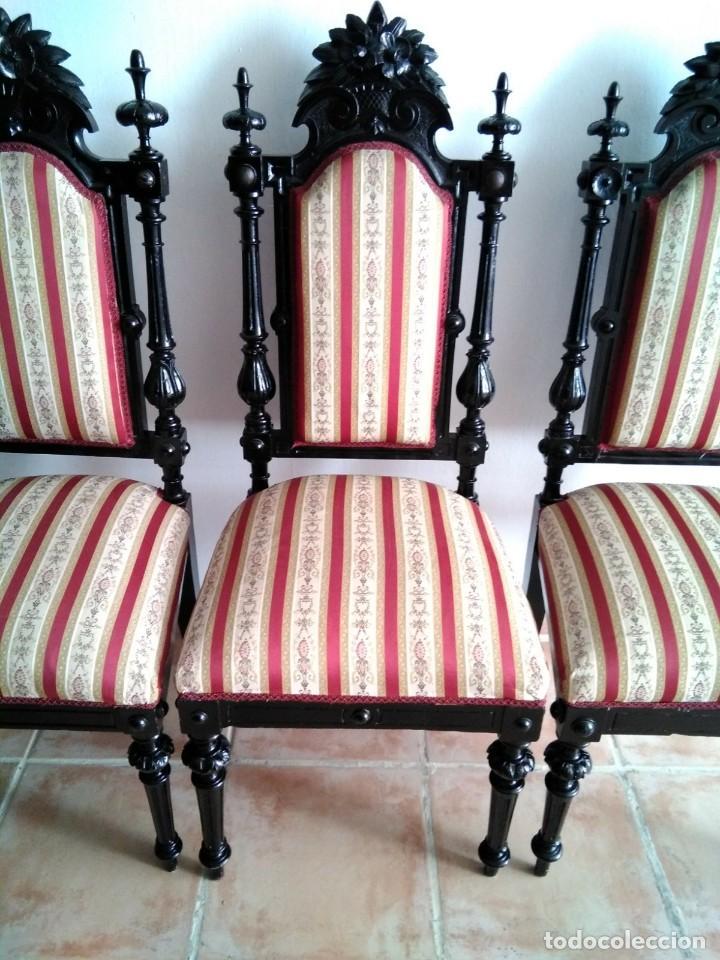 Antigüedades: Sillas y sillones alfonsinos - Foto 11 - 144827454