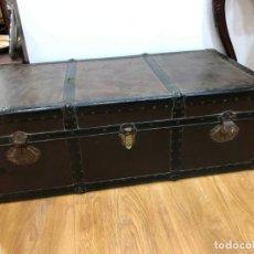 Antigüedades: PRECIOSO ALCON MALETA CON MEDIDA 109X56X38 CM. Lote 144835562