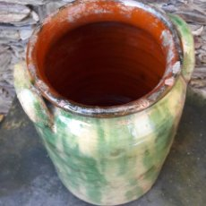 Antigüedades: ORZA, POT EN CERÁMICA CATALANA. Lote 144841274