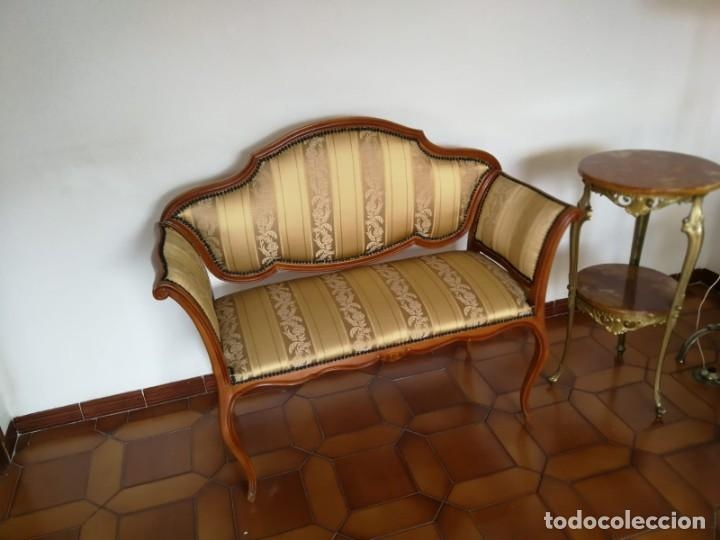 Antigüedades: tresillo Luis XV - Foto 2 - 144890730