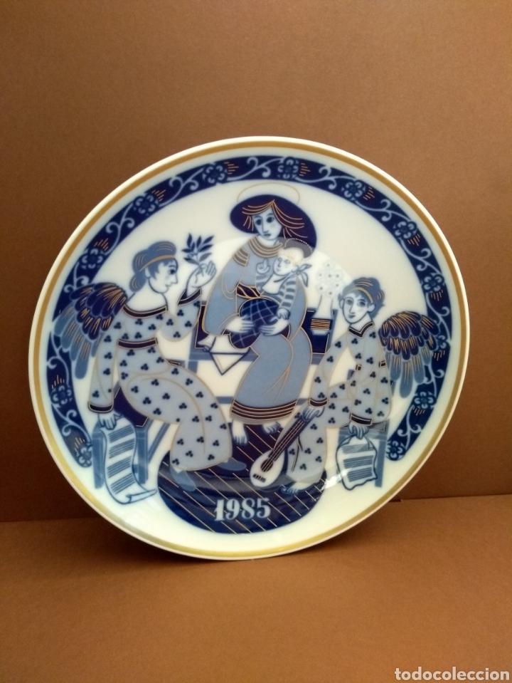 PLATO NAVIDAD 1985 SANTA CLARA (Antigüedades - Porcelanas y Cerámicas - Santa Clara)