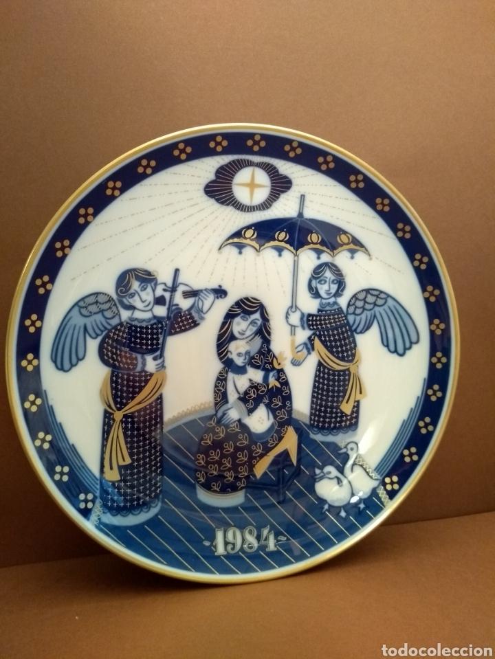 PLATO NAVIDAD 1984 SANTA CLARA (Antigüedades - Porcelanas y Cerámicas - Santa Clara)