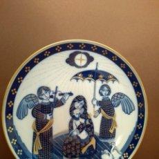 Antigüedades: PLATO NAVIDAD 1984 SANTA CLARA. Lote 144909496