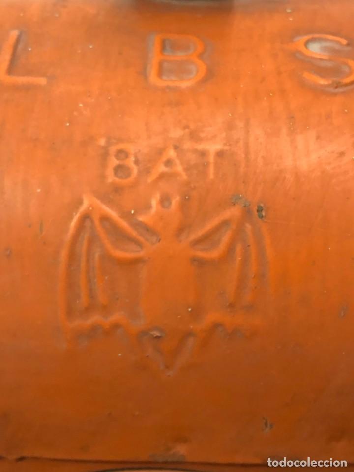 Antigüedades: Antiguo Farol Lampara o linterna Ferroviario de Aceite - Auténtico Muy Buen Estado - Foto 3 - 144911162