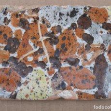 Antigüedades: AZULEJO ANTIGUO DE TALAVERA / TOLEDO - TECNICA PINTADA, LISA O PLANA - ESPONJADO -S XVI - XVII.. Lote 144988246
