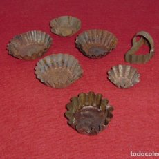 Antigüedades: ANTIGUOS MOLDES DE REPOSTERIA.. Lote 144993026