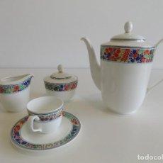Antigüedades: JUEGO DE CAFE 12 SERVICIOS HUTSCHENREUTHER, ALEMANIA. NUEVA, A ESTRENAR!. Lote 145004350