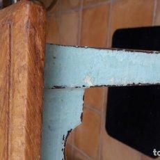 Antigüedades: MESITA ALTA DE ROBLE MACIZO FINALES SIGLO XIX.. Lote 145009514