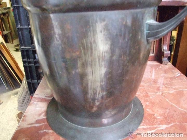 Antigüedades: JARRON MODERNISTA EN BRONCE - Foto 6 - 145017926