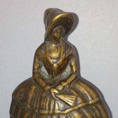 Antigüedades: ANTIGUA CAMPANA EN BRONCE . Lote 145078722