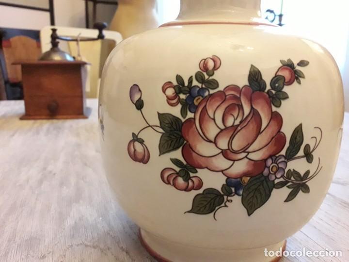 Antigüedades: Quinqué cerámica - Foto 5 - 145110626