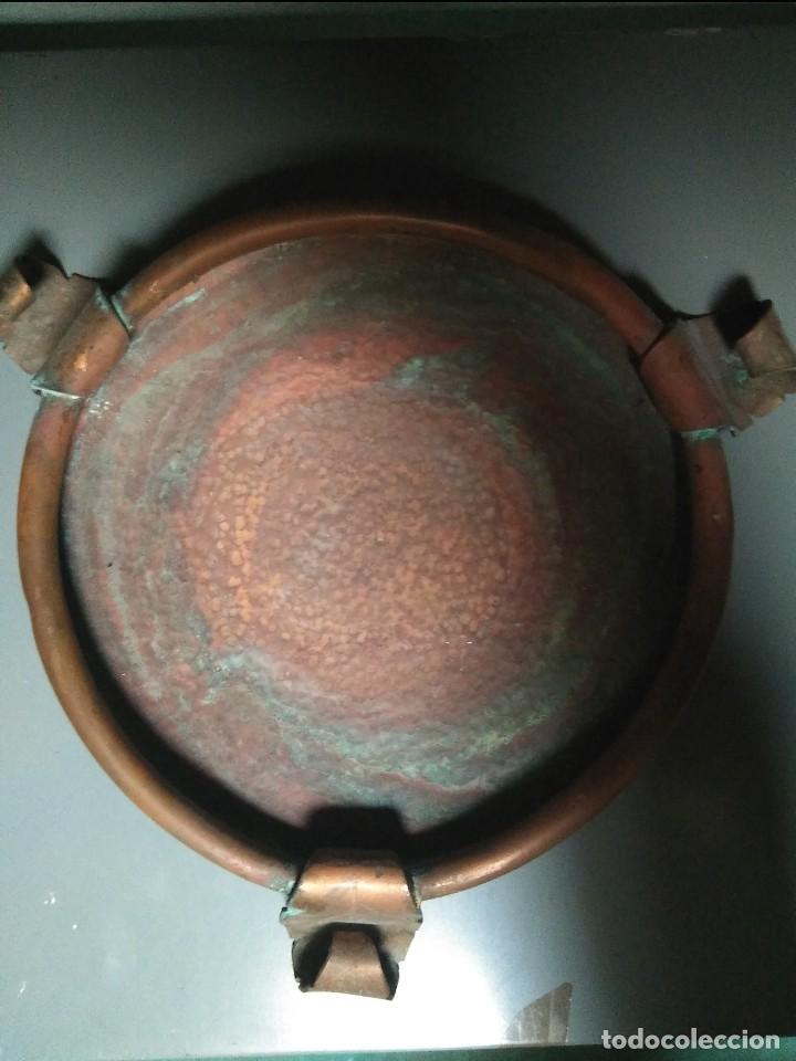 Antigüedades: ANTIGUO PLATO PARA TIESTOS O JARRONES - Foto 2 - 145130386
