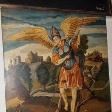 Antigüedades: RETABLO SAN MIGUEL. Lote 145143942