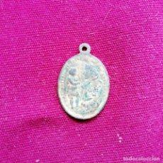 Antigüedades: SAN ANTONIO DE PADUA. ANTIGUA MEDALLA RELIGIOSA. Lote 145152438