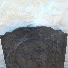 Antigüedades: PLACA HIERRO. Lote 145169624