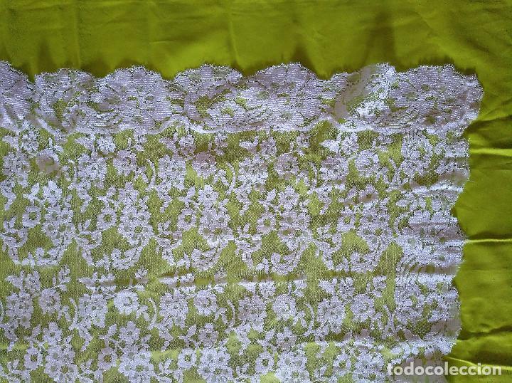 Antigüedades: Mantilla blanca - Foto 5 - 145176590