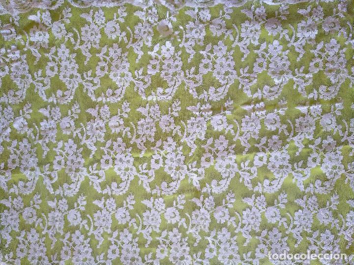 Antigüedades: Mantilla blanca - Foto 6 - 145176590