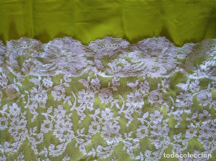Antigüedades: Mantilla blanca - Foto 7 - 145176590