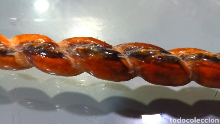 Antigüedades: Fusta o vergajo con mango de cuero - Foto 4 - 145187541