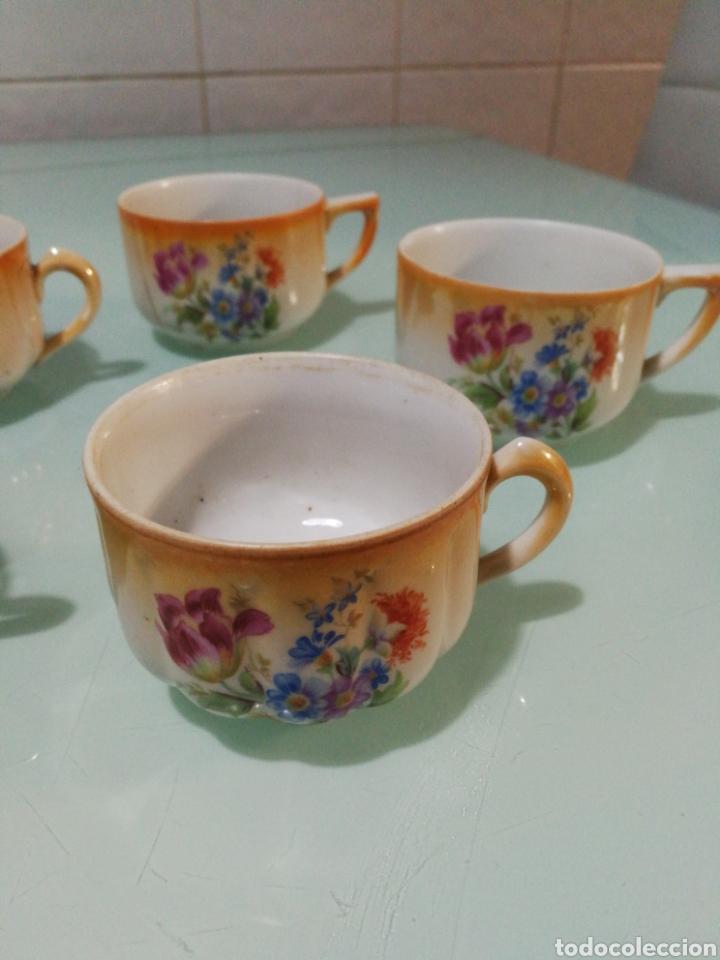 Antigüedades: Tazas de café Santa Clara. - Foto 2 - 145194237